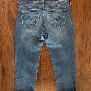 Ag Adriano Goldschmied Jeans - AG The Steve Cuff Jeans - Petite